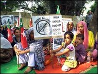 SDPI stages protest in New Delhi