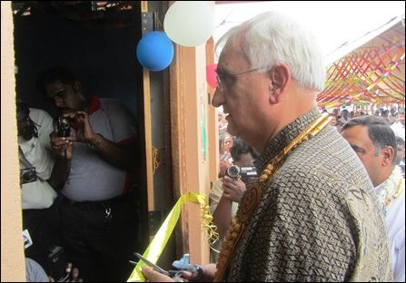 Salman Khurshid at Thellippazhai