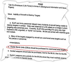 The 'leaked' document on US advice to SL Defence Ministry in 2002