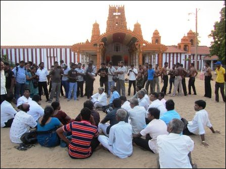 Mu'l'livaaykkaal Remembrance in Jaffna