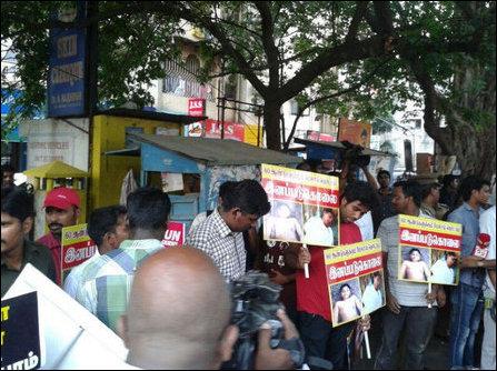 TamilNet: 25 05 14 Tamil Nadu students rally against BJP