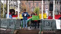 Global Day for Kobane observed in Bergen, Norway