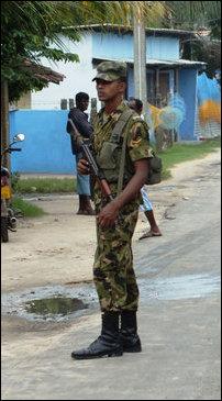 SL military deployment in Jaffna