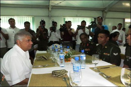 Ranil in Jaffna