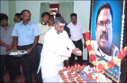 Sivaram memorial event in Batticaloa