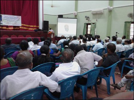 Kasi Anandan's address at the 10th memorial event held in Batticaloa