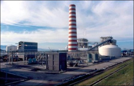 Model of Champoor Power Plant