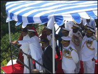 Sirisena visits SLN Eastern Command in Trincomalee