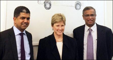 Sumanthiran, Surendiran meeting Australian Greens
