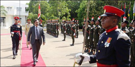 SL Defence Secretary's visit to North
