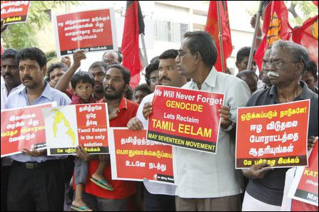 May 17 protests against US move against Eezham Tamils