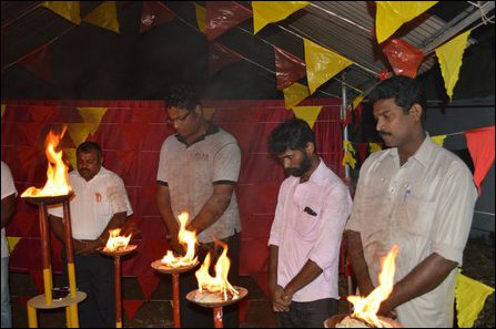 TNPF organised event in Jaffna