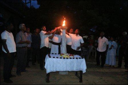 Maaveerar Naa'l event in Mannaar