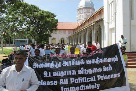 Protest in Mannaar