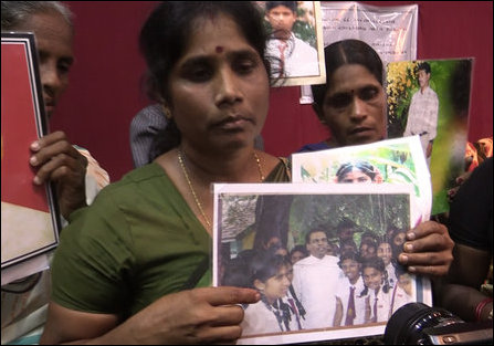 Vathanalogini Viveganathan seeking whereabouts of her missing daughter