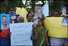 February 04 Black flag protest in Batticaloa