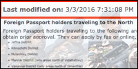 SL Defence Ministry silently implements travel restrictions to North