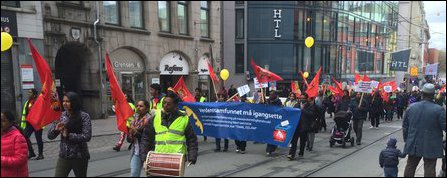 May Day Rally in Oslo