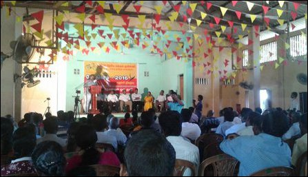 TNPF's meeting held in Vadamaraadchi, Jaffna