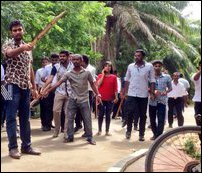Clash in Jaffna University