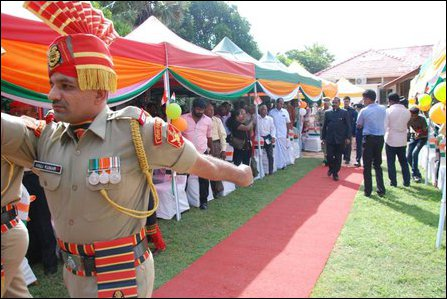 Indian Independence Day in Jaffna
