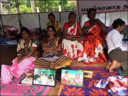 Enforced Disappeared Peoples' Relatives in Vavuniyaa