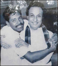 MGR with Suntharalingam