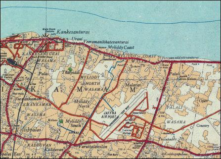 Coastal stretch of Mayiliddi