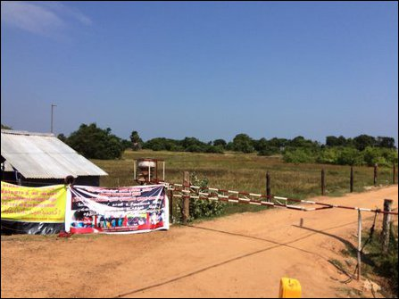 SL Air Force barrier at Keappaa-pulavu