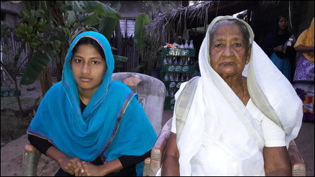 Mother and daughter of Seyadhu Hameed Thasmeen