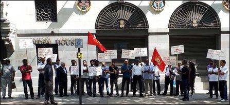 Release Thirumurugan protest in UK