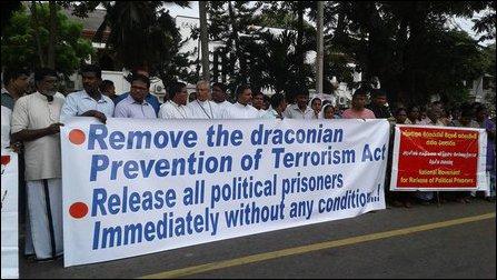 Jaffna protest
