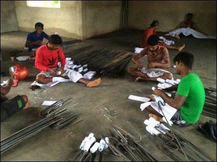 People preparing for Heroes Day