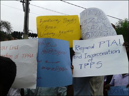 University students protest for TPPs