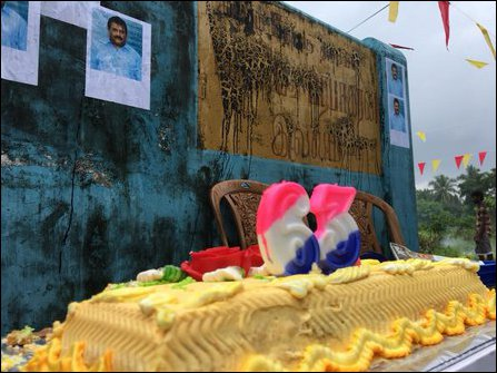 LTTE leader Pirapaharan's 63rd  birthday
