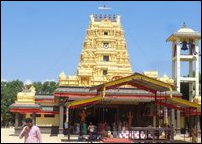 Kaamaadchi Amman temple operated by Swami Ramdas Foundation at Mayilampaa-ve'li in Batticaloa