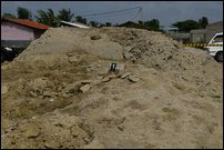 Sands exhumed at CWE premises