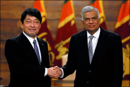 SL PM meets Japanese Def Min