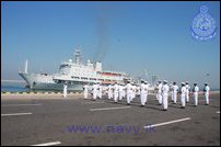 Chinese PLA Naval Ship