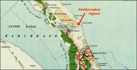 Vadduvaakal map