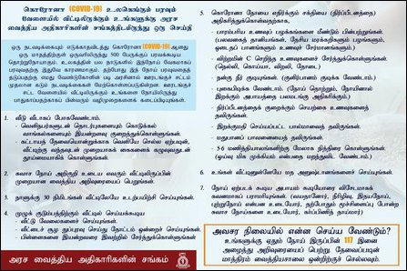 GMOA information in Tamil