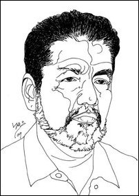 Balakumaran, as rendered by Tamil Nadu artist Oviyar Pukalenthy